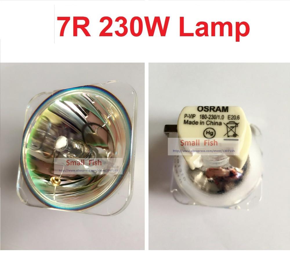 все цены на Free shipping HRI230W Lamp For Stage Moving Head Lights Scan Lamp Bulb 230W MSD 7R Platinum Metal Halogen Lamps Follow Spot Lamp