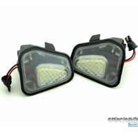 2PC Under Side LED SMD Xenon Lighting For Passat B7 Golf 6 GTI Golf Touran Cabriolet