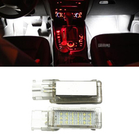 Car Styling Canbus No Error LED Footwell Light For Golf 5 6 Golf Plus Jetta Passat