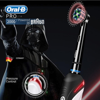 Oral B 4000 Electric Toothbrush 3D Ultrasonic Tooth Brush Pressure Sensor 2 Modes Gum Care Inductive Charger Toothbrush with Box