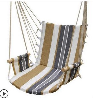 Hammock Outdoor Dormitory Bedroom Swing Send Tying Pouch Colors Swinging Hanging  Chair Hammock Thick Canvas  In Hammocks From Furniture On Aliexpress.com ...