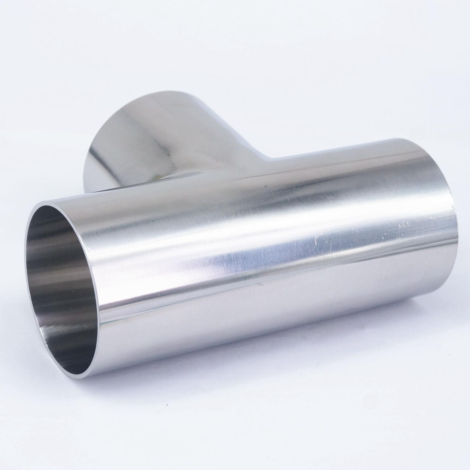 """2/"""" 51mm T Piece Divider Connector Joint Stainless Steel"""