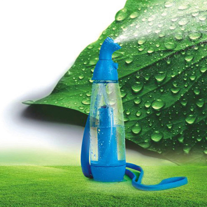 summer beauty women's face moisturizing whitening facial mist sprayer hydrating nebulizer atomizing portable manual wet cooler