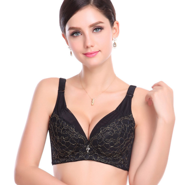 384466a0f4 Cheap Large Cup Push up bra E cup Deep V women Bra Underwear Large Cup C D