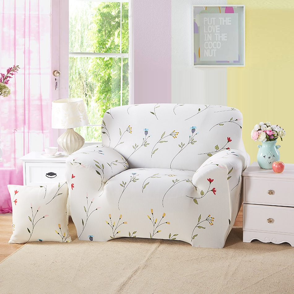 Floral Couch Sofa Covers For Living Room Multi Size Home Decoration Corner  Sofa Slipcovers Anti