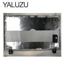 Yaluzu 90% novo para hp 350 g1 350 g2 355 g2 lcd capa traseira tampa traseira 758057 001 prata cinza um caso