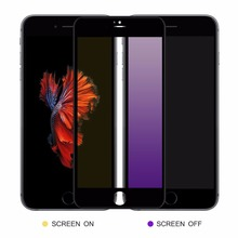 2018 Anti Purple Blue Ray Eye-Protective 3D Full Curved Tempered Glass Screen Protector Film For iPhone 8 7 Plus 6 6s Plus 6d anti purple blue ray tempered glass for iphone xs max xr x 6 6s 7 8 plus full curved screen protector eye protective film