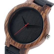 Zegarek Męski wykonany z Drewna Bambusowego