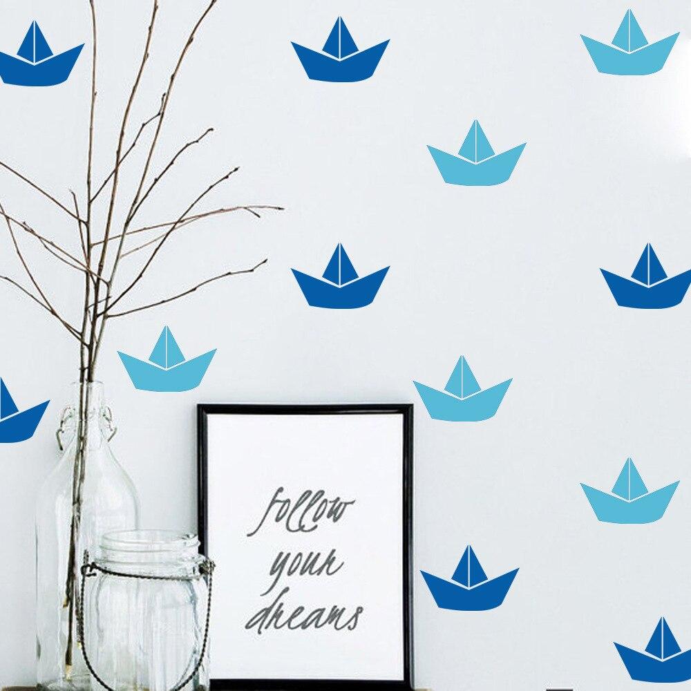 Aliexpress Com Buy New Design Creative Diy Wall Stickers: Aliexpress.com : Buy Creative DIY Cute Little Boat Wall