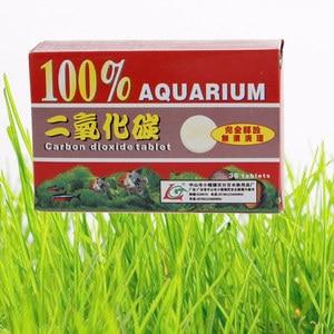 36pcs/Box CO2 Tablet Carbon Dioxide diffuser For Aquarium Aquatic Float Grass Free Shipping, Aquarium Co2 Diffuser