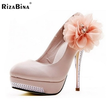 women wedding high heel shoes sexy dress footwear fashion brand lady spring pumps D5614 hot sale 35-43