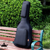40 41inch Travel Playing And Singing Wooden Guitar Bags Waterproof Guitar Backpack Guitar Bag Thick Shoulders