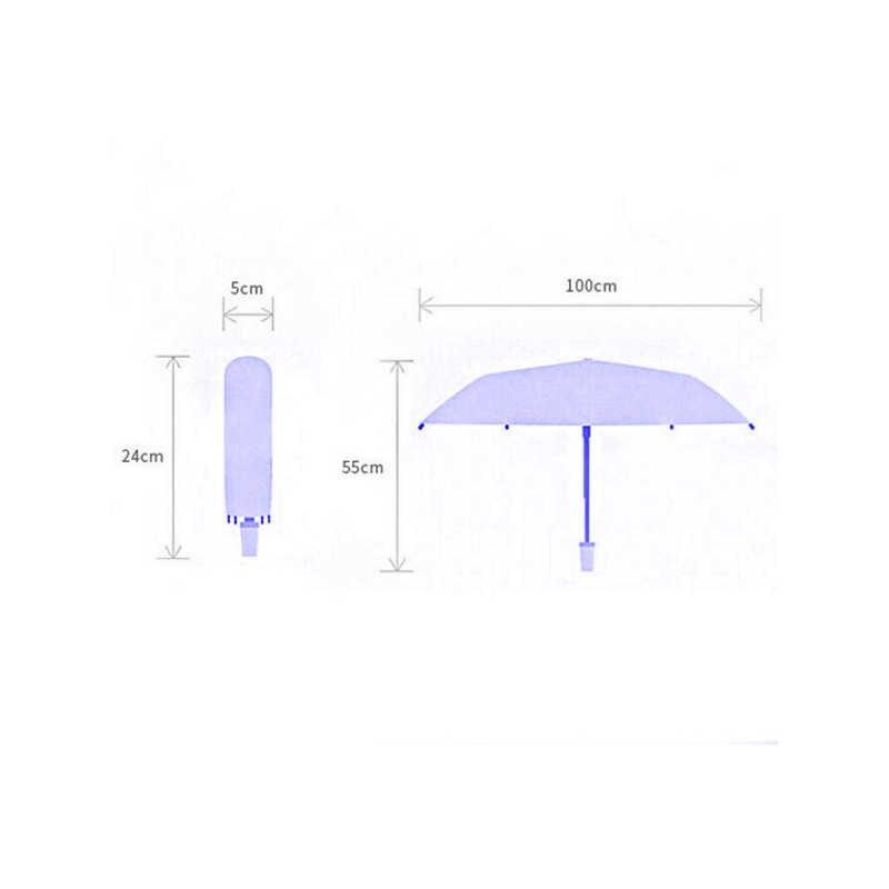 2019 модный прозрачный зонтик Sakura Rain, Женский Романтический складной Классический зонтик с цветком вишни
