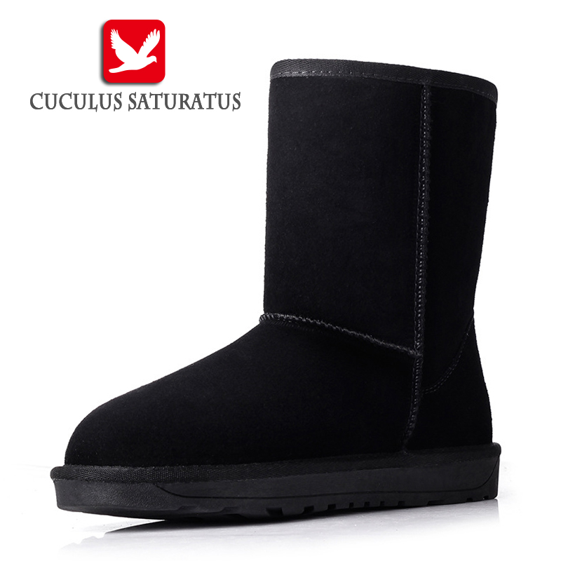 Cuculus Hot Cow Suede Leather brand women snow boots comfortable black winter quality boots shoes free shipping 5825 sadat khattab usama abdul raouf and tsutomu kodaki bio ethanol for future from woody biomass