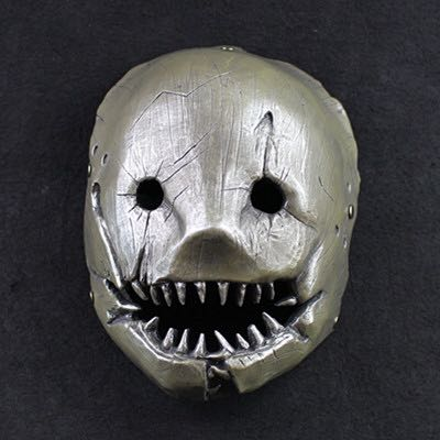 Halloween game Dead by Daylight/ butcher killer theme cosplay dress up terror resin mask party