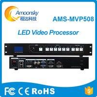 Светодиодный экран кабинет дисплей использование AMS MVP508 светодиодные видео процессор для ди Джея led видеостена открытый распродажа