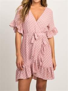 IYAEGE Summer 2019 Boho Beach Dress Party Dress Sundress