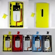 New  Full Housing  For Nokia Lumia 920 920T Battery Cover Door+Side buttons Free Shipping