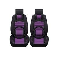 Special Breathable Car Seat Cover For Lada 110 111 112 Kalina Niva Vesta XRAY Granta car accessories auto Stickers 3 28