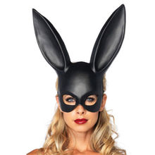 Women Sexy Solid Bunny Rabbit Long Ears Mask Party Cosplay Costume Fancy Dress Decoration