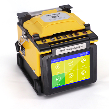 USA FUSION SPLICER COMWAY A3 splicing machine with touch screen mini fttx fusion splicer handheld splicing machine фото