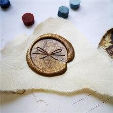 ขี้ผึ้งซีลแสตมป์กลุ่มใหม่ 3 ของขวัญนกอะนิเมะออกแบบโลโก้Wax Sealแสตมป์หัวSuiteเกือบจับแสตมป์