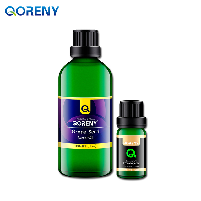 Incenso ÓLEO 10 ML + óleo de semente de uva 100 ML