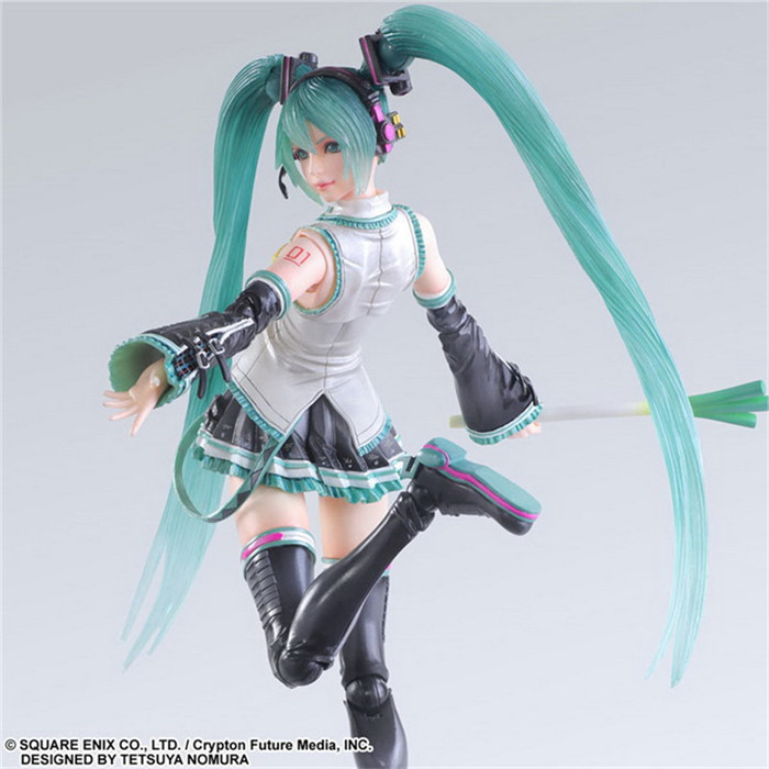 ФОТО Pack of  PA Miku Hatsune action pvc figure toy tall 23cm in box via EMS