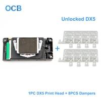 New DX5 Printhead Unlocked Water Based DX5 Print Head For Mutoh RJ 900C RJ 900X RJ 901C Valuejet 1204 1304 1304W 1604 1604W 1614