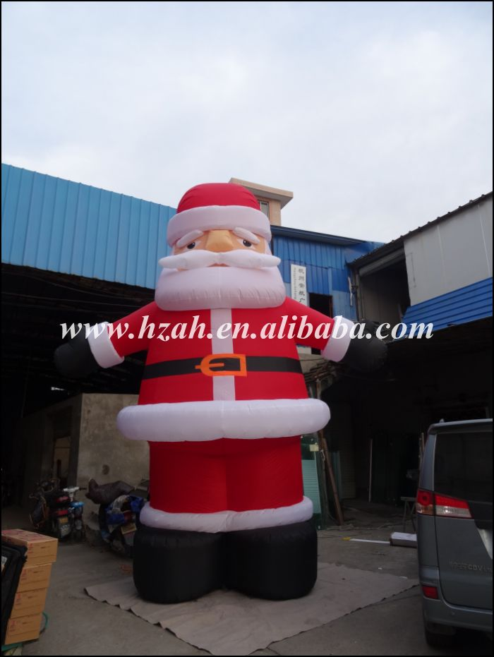 Giant Inflatable Santa Claus for Christmas Decoration цены онлайн