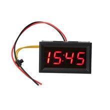 1 шт. Универсальный светодиодный автомобильный электронный часы Автомобильный светодиодный дисплей цифровые часы мотоциклетные часы приборной панели