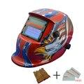 Полуавтоматическая Сварка Mig Tig литиевая батарея затемнение сварочный шлем/Солнечная Сварочная маска TRQ-HD10-2233FF-YG