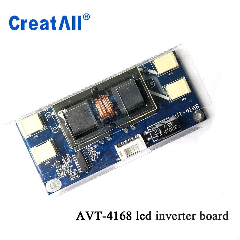 100pcs/lot Mini Desgin Avt4168 PC LCD MONITOR CCFL 4 LAMP 10V-28V Universal Lcd Inverter