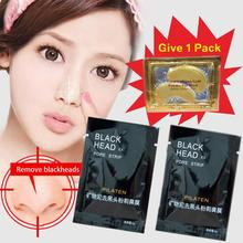 1 pcs/lot  Face Care Facial Minerals Conk Nose Blackhead Remover Mask Pore Cleanser Deep Cleansing Black Head EX Pore Strip