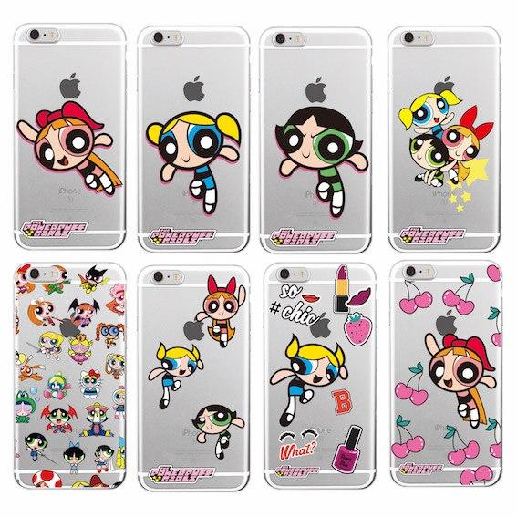 12 Powerpuff Girls Cases For Iphone X 4 5 6 7 8 S Se Plus