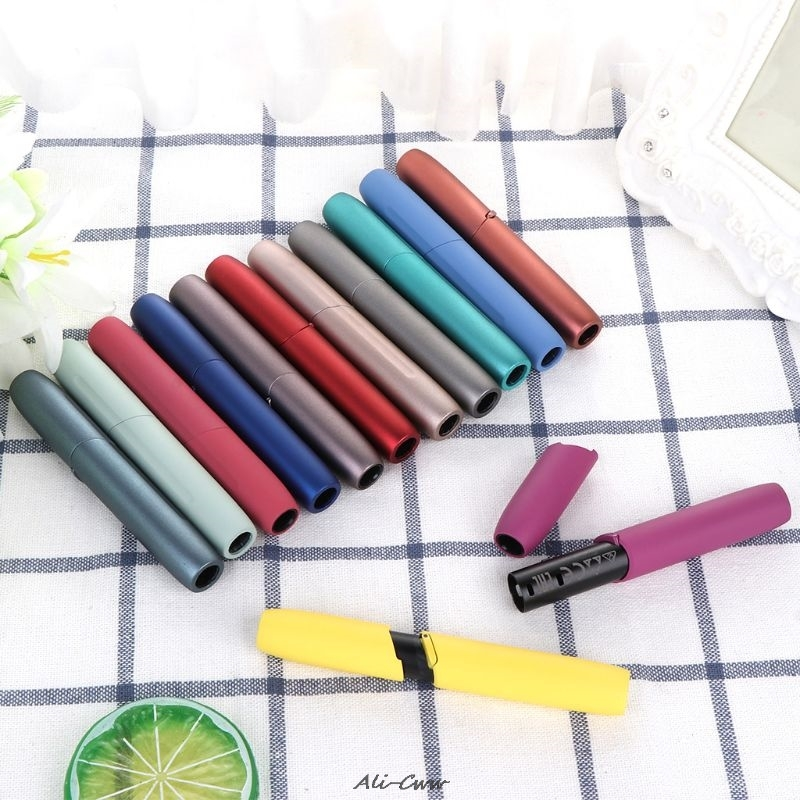 13 Colors Repair Accessories For IQOS Outer Case Button Ring Set For IQOS 3.0 E Cigarette Accessories Replaceable Case