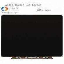 Оригинальный 2015 год retina 15,4 «для MacBook Pro retina A1398 ЖК-дисплей светодиодный Экран Дисплей LSN154YL02-A01/A04 2880*1800 Замена