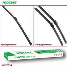 Front and Rear Wiper Blades For Audi A1 2010-2015 Windshield Windscreen wiper 24+16+14