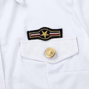Image 5 - زي تنكري شرطي مثير للسيدات للبالغين ، زي تنكري شرطي ، قميص أبيض ، مع ربطة عنق ، أزياء لعب الأدوار