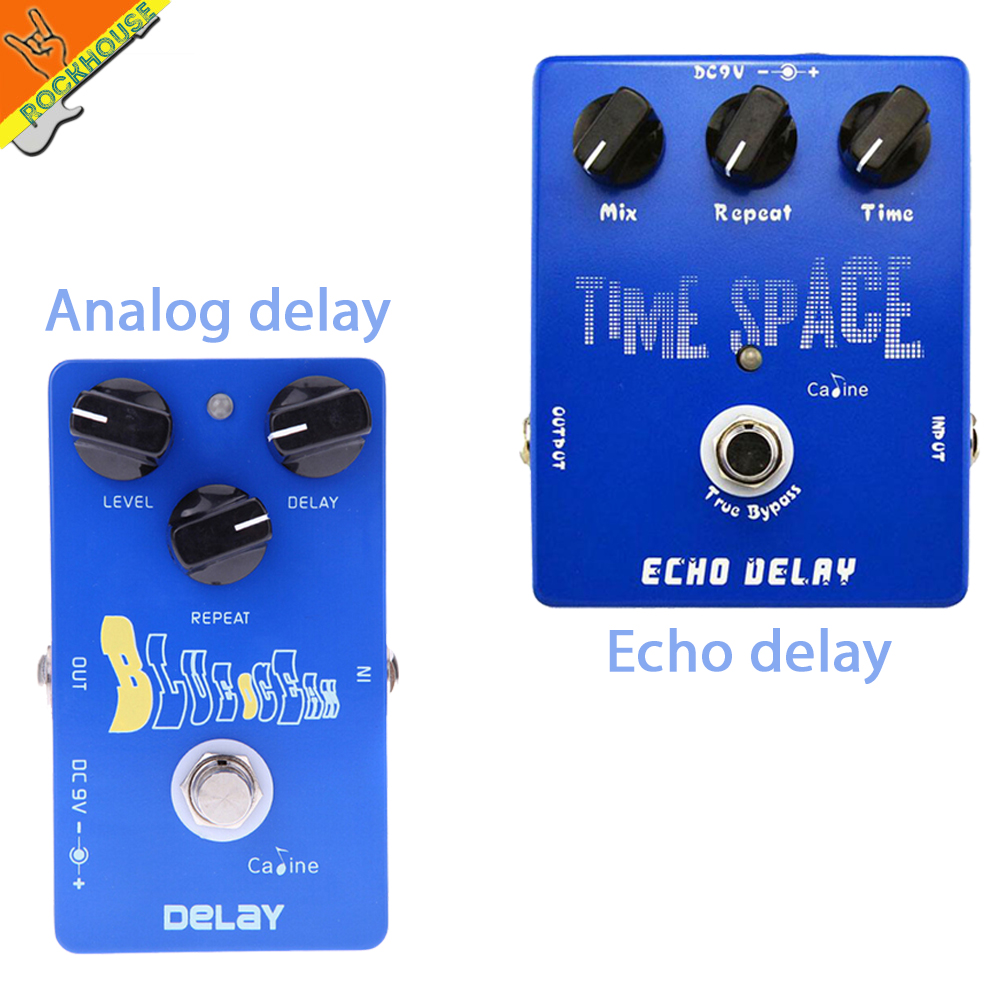 Caline Analog Delay Guitar Effects Pedal Echo Delay Guitar Pedal Stompbox 600ms Delay time Smooth Warm True Bypass Free Shipping mooer ensemble queen bass chorus effect pedal mini guitar effects true bypass with free connector and footswitch topper