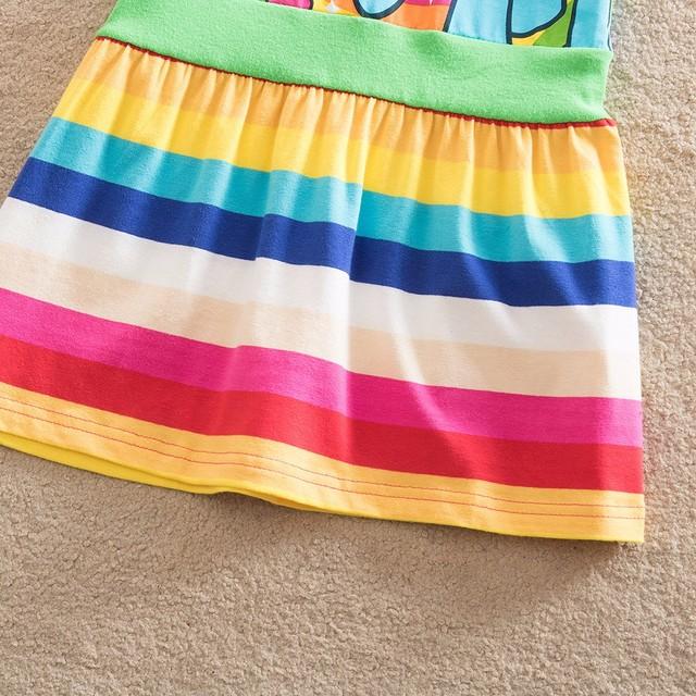 Nouveau Offre Spéciale Mon Bébé Fille Robe Enfants Fille petit Poney Robes de Bande Dessinée Princesse Partie Costume Enfants Vêtements D'été Vêtements