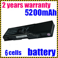 Jigu frete grátis & bateria de 6 células para dell inspiron 6400 e1505 1501 gd761 kd476 10.8 v 4400 mah