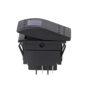 4-контактный ВКЛ-ВЫКЛ водонепроницаемый 12В 20А бар Кулисный тумблер светодиодный светильник для автомобиля лодки морских транспортных средств