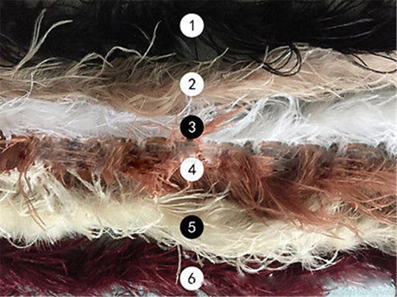 Luxurious Ostrich Feather Bridal Fur Shawl Marriage Shrug Coat Bride Winter Wedding Party Boleros Feather Wedding Cape (3)