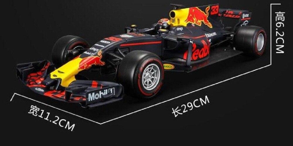 BBURAGO 1:18 2017 INFINITI RB13 Model Racing CAR #33 NEW IN BOX
