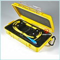 Fiber Optic OTDR Launch Cable Box for Optical Time Domain Reflectometer , SM G652D ,1 KM