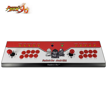 2019 New King of fighters Joystick Consoles with multi game PCB board 2222 in 1,pandora box 9D arcade joystick game console 2019 new king of fighters joystick consoles with multi game pcb board 1300 in 1 pandora box 6 arcade joystick game console