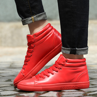 2016 New Men S Fashion Men S Fall And Winter Fashion Trend Shoes Flat Shoes Black
