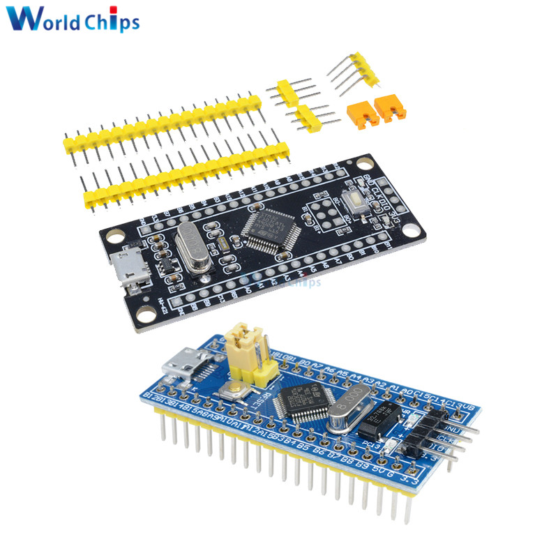STM32F103C8T6 ARM STM32 Cortex-M3 Minimum System Development Board Module ST-Link V2 Mini STM8 Simulator Download Programmer DIY