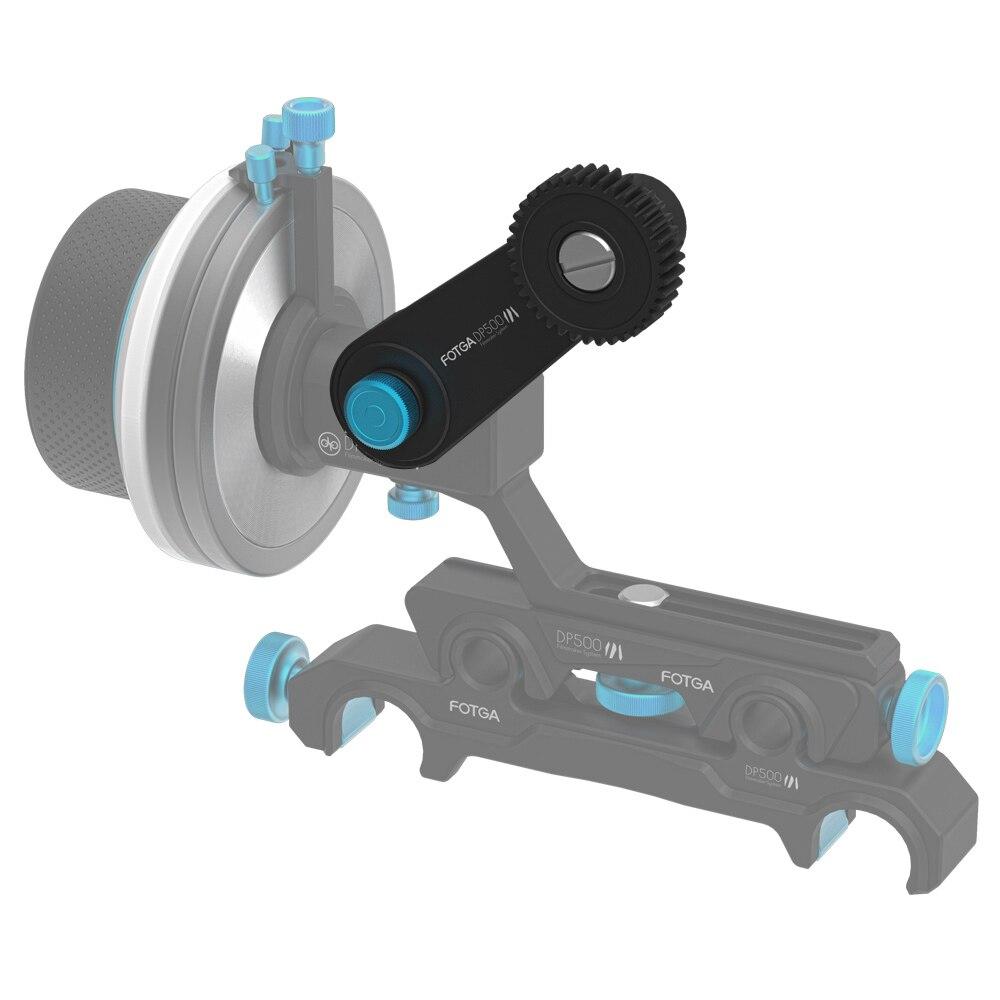 FOTGA Rocker Arm Extension for DP500III Follow Focus Rig 5D3 A7 A7IIS A7R A7RS GH4 C300 C500 RED Epic BMCC BMPCC D7000 D3100